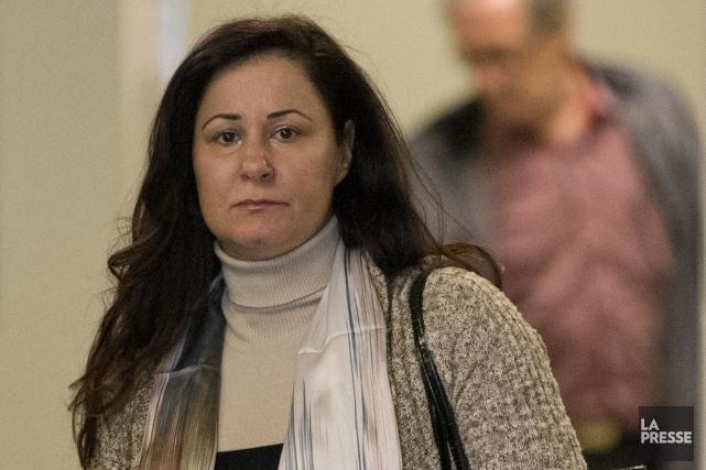Adèle Sorella a été trouvée coupable du meurtre... (Photo David Boily, La Presse)