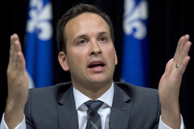 Alexandre Cloutier, ministre délégué aux Affaires intergouvernementales.... (Photo Jacques Boissinot, La Presse Canadienne)