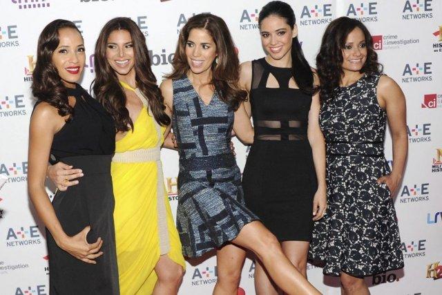 La distribution de Devious Maids comprend Dania Ramirez,... (Photo: AP)
