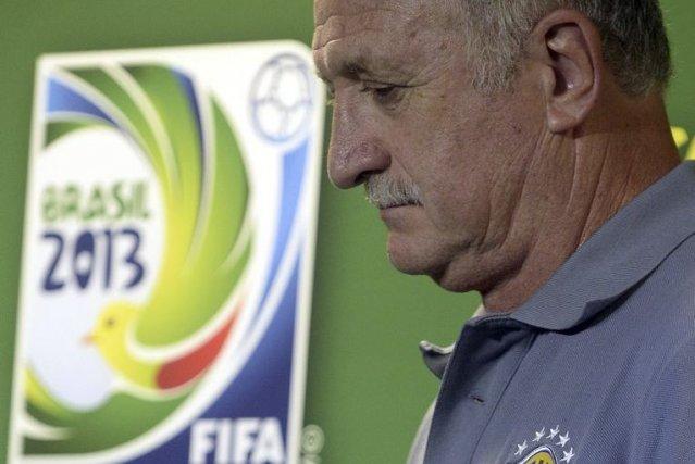 Luiz Felipe Scolari, a défendu le gouvernement, estimant... (PHOTO JUAN BARRETO, AFP)