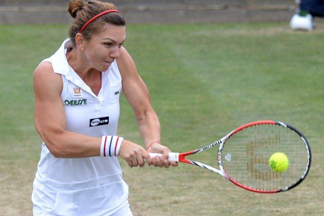 Simona Halep a décroché le deuxième titre de... (Photo : Ermindo Armino, AP)