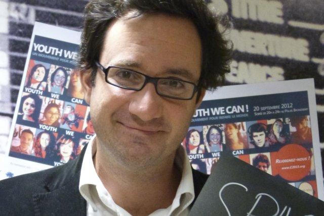 Christian de Boisredon, fondateur de Sparksnews... (Photo fournie par Sparksnews)