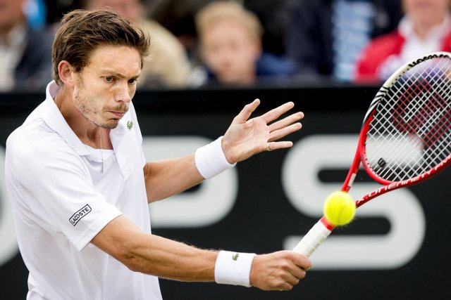 Nicolas Mahut, qui occupe actuellement la 240e place... (Photo : Koen Van Weel, AFP)