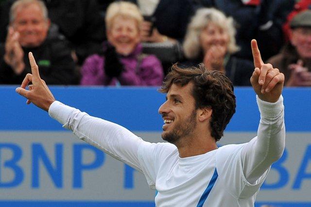 Feliciano Lopez a créé pas moins de 21... (Photo : Ben Stansall, AFP)