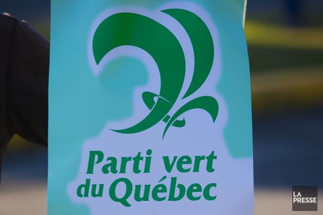 Le Parti vert du Québec entend diversifier ses politiques en vue des prochaines... (PHOTO ARCHIVES LA PRESSE)