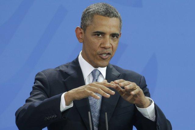 Le président américain Barack Obama a annoncé samedi qu'il proposerait mardi... (Photo Pablo Martinez Monsivais, AP)