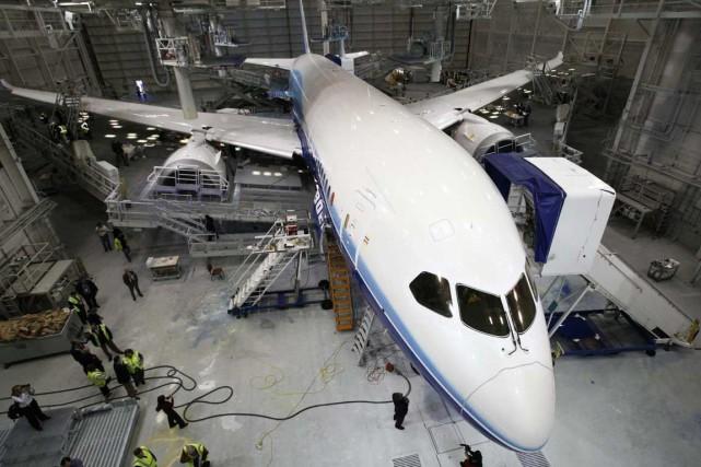 Ce ne serait qu'en 2014 que l'industrie aéronautique... (Photo Archives AP)