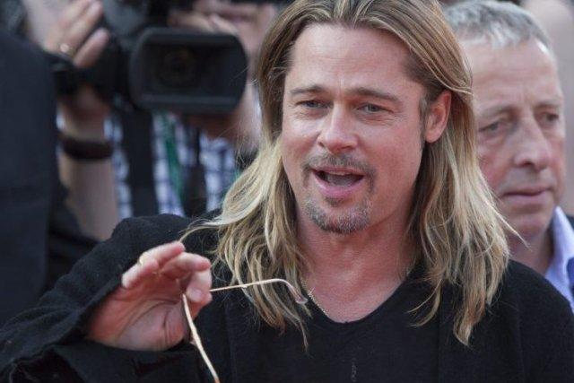Brad Pittdevait participer lundi à l'avant-première du film... (Photo Alexander Zemlianichenko Jr, AP)