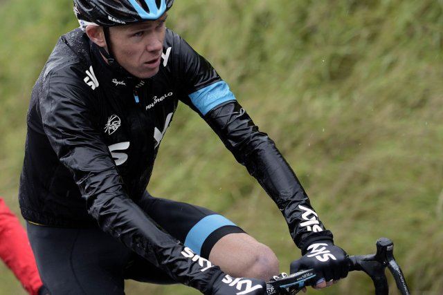 Le Britannique Christopher Froome est le favori pour... (Photo : Jeff Pachoud, archives AFP)