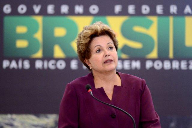 La popularité de l'ex-président Lula a bien servi... (Photo : archives AFP)