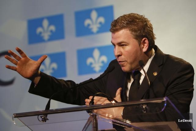 Le député du Parti québécois Pascal Bérubé a... (Photo: Simon Séguin-Bertrand, LeDroit)