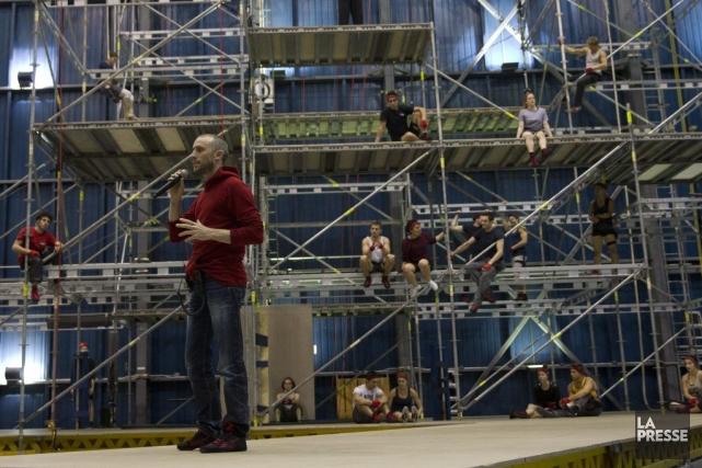 Le concepteur et metteur en scène du spectacle... (PHOTO OLIVIER JEAN, LA PRESSE)