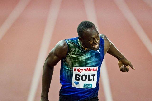 Usain Bolt... (Photo : archives AFP)