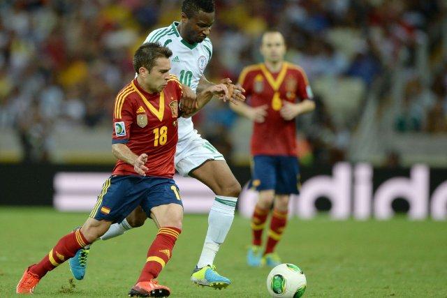 L'Espagne, qui avait corrigé l'Italie 4-0 en finale... (PHOTO  EITAN ABRAMOVICH, AFP)