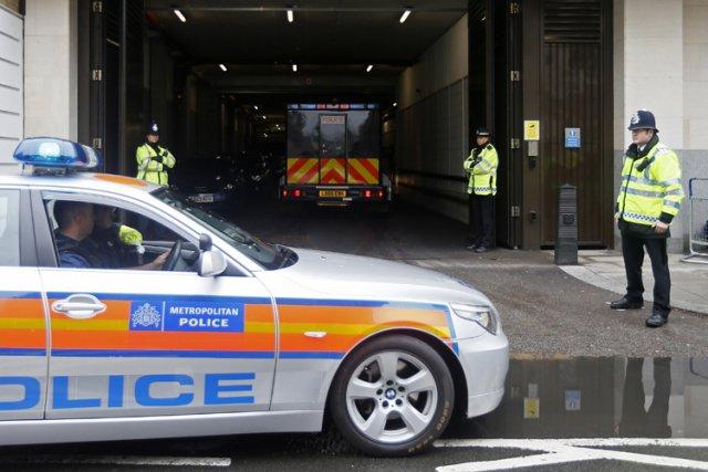 La police britannique a espionné la famille et les amis de la victime d'un... (Archives Reuters)