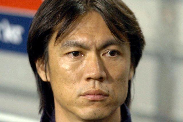 Hong Myung-Bo a commencé sa carrière d'entraîneur comme... (PHOTO : JUNG YEON-JE, AFP)