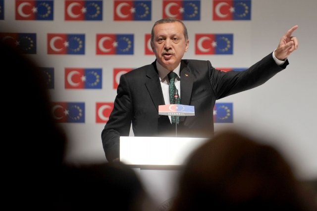 Le Premier ministre de la Turquie,Recep Tayyip Erdogan.... (Photo AFP)