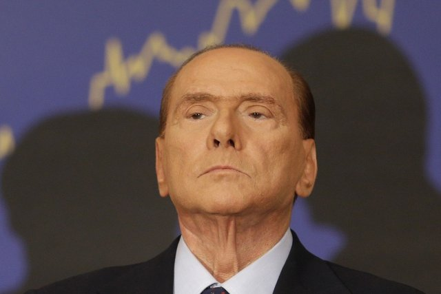 Silvio Berlusconi,... (Photo Alessandra Tarantino, archives AP)