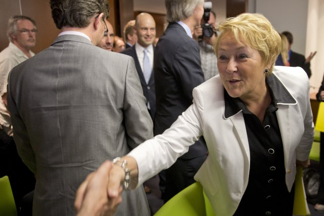 Mme Marois effectuera cette semaine son quatrième déplacement... (Photo David Boily, La Presse)