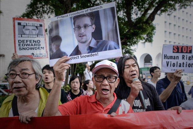 Le 13 juin dernier, des manifestants se sont... (Photo: AFP)