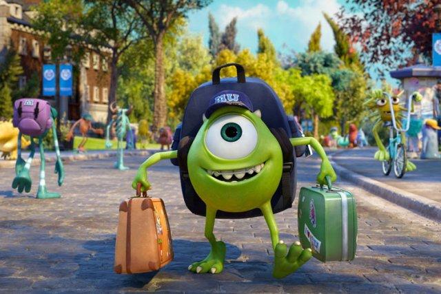 Monsters University, le dernier film des studios Pixar, qui reprend... (Disney)