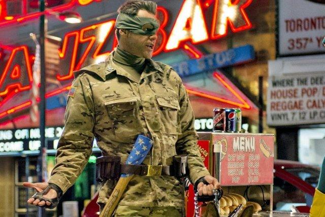 Jim Carrey dans Kick-Ass 2... (Photo: AP)