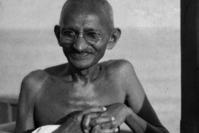 Le Mahatma Gandhi pourrait bien donner la réplique... (PHOTO JAMES A. MILLS, ARCHIVES AP)