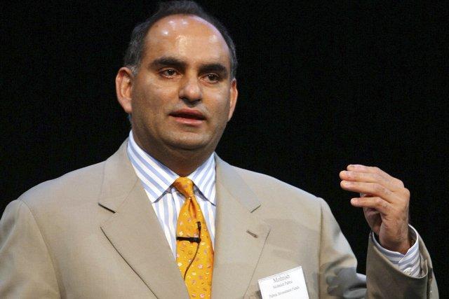 MohnishPabraiévite d'emprunter pour investir, et s'intéresse aux entreprises... (Photo Daniel Barry, Bloomberg)