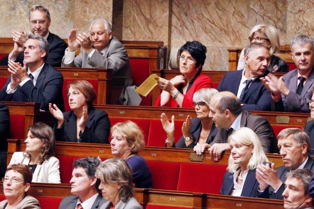 Les deux projets de loi, qui prévoient pour... (PHOTO FRANÇOIS GUILLOT, AFP)