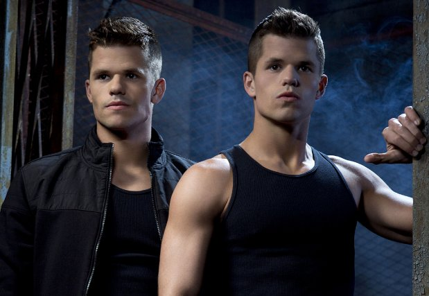 Les jumeaux Carver... (Photo: ABC)