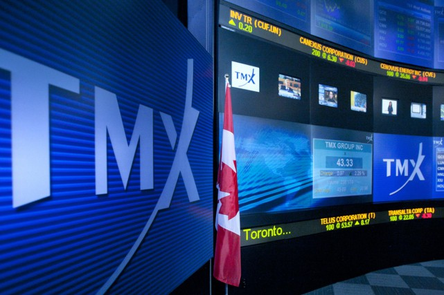 Le Groupe TMX exploite la Bourse de Toronto.... (Photo Norm Betts, Archives Bloomberg)