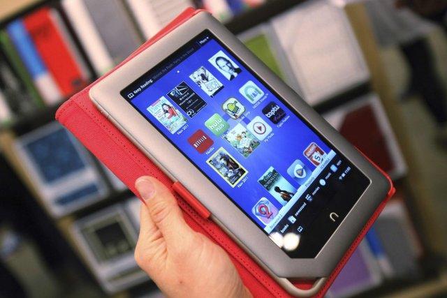 La tablette couleur Nookde Barnes & Noble ne... (Photo Reuters)