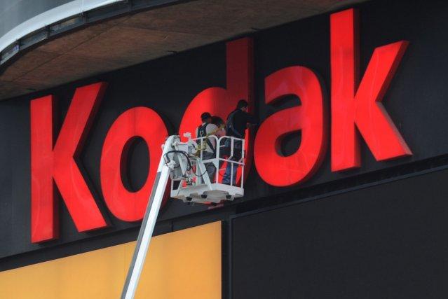Kodak, grand nom de la photographie argentique, a... (Photo archives AFP)