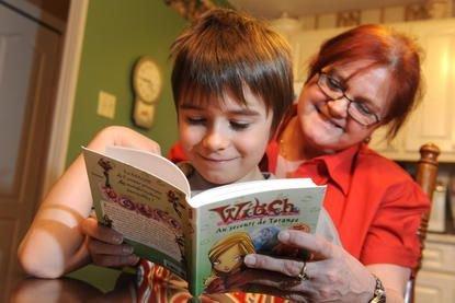 L'initiation à la lecture chez les enfants âgés... (Imacom Maxime Picard)