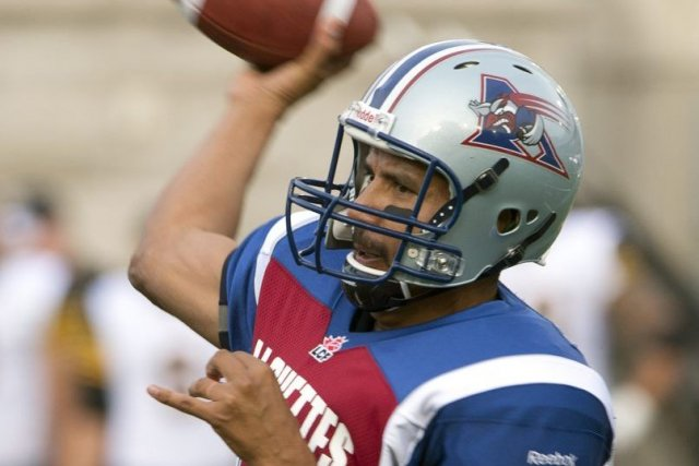 Anthony Calvillo... (Photo Ryan Remiorz, La Presse Canadienne)