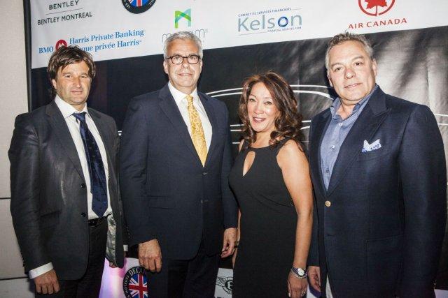 Christophe Georges, Warren Greenstone, Cheryl Blas et Joel...