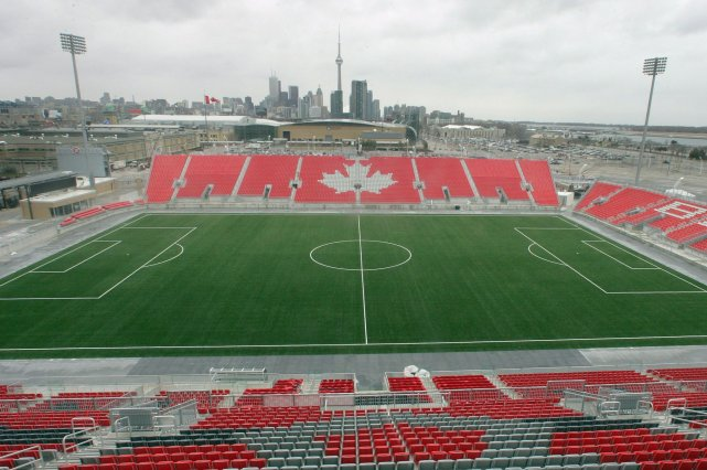 Le BMO Field de Toronto... (Photo archives La Presse Canadienne)