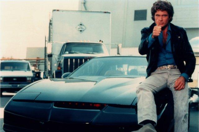 Les aventures de Michael Knight et de sa voiture intelligente K.I.T.T. se...