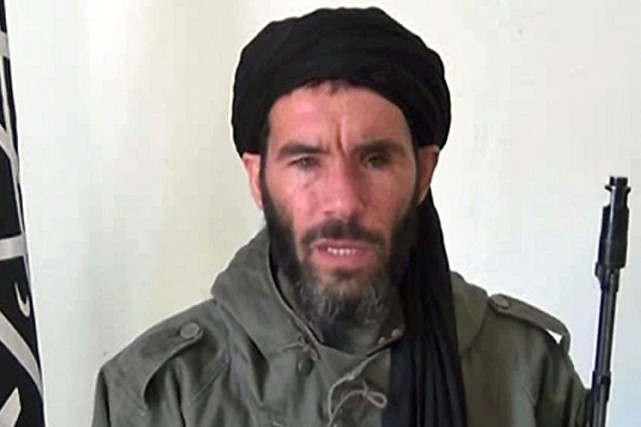 Le djihadiste Mokhtar Belmokhtar.... (PHOTO ARCHIVES AFP)