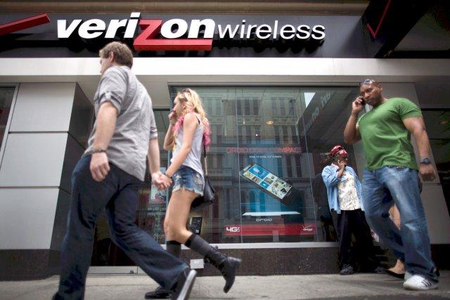 Verizon est une multinationale étrangère bien plus imposante... (Photo AP)