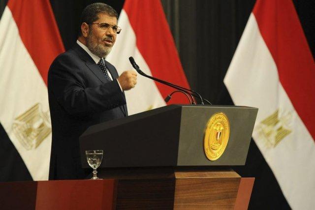 Mohamed Morsi... (Photo AFP)