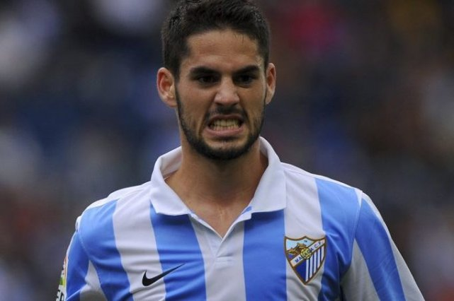 Le milieu offensif, qui a conduit Malaga en... (Photo Jorge Guerrero, Agence France-Presse)