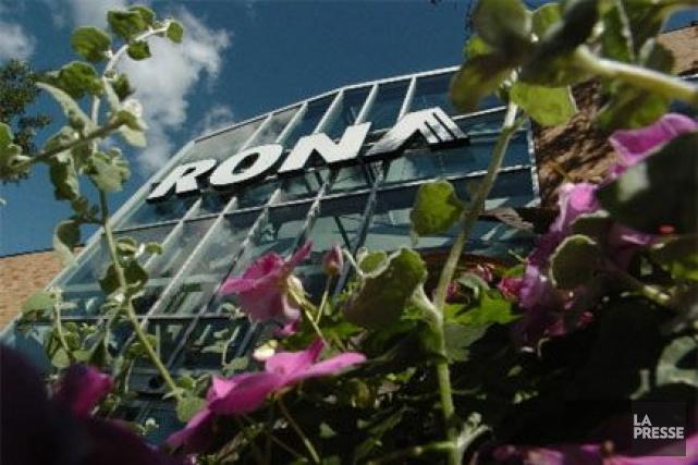 Le géant québécois de la rénovation résidentielle Rona (T.RON)... (Photo André Tremblay, archives La Presse)