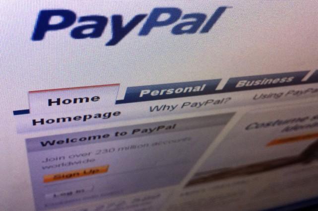 Le service de paiements sur internet et par téléphone intelligent PayPal... (Photo archives Reuters)