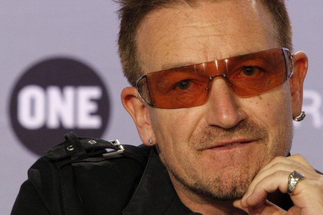Paul Hewson, alias Bono.... (PHOTO BENOIT TESSIER, ARCHIVES REUTERS)
