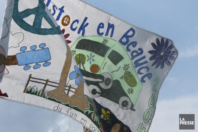 Jusqu'à dimanche, le village de Saint-Éphrem-de-Beauce accueille le festival... (Photo Luce Dallaire, La Presse)
