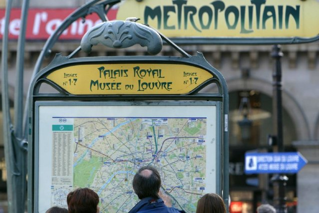 Le métro de Paris.... (Photo Archives AFP)