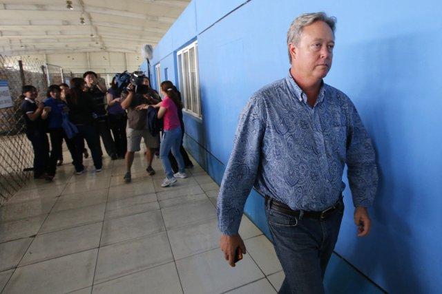 Chip Starnes, lepatron américain d'une usine en Chine... (Photo KIM KYUNG-HOON, REUTERS)