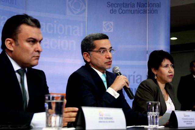 «L'Équateur ne marchande pas avec les principes, il... (PHOTO AFP)