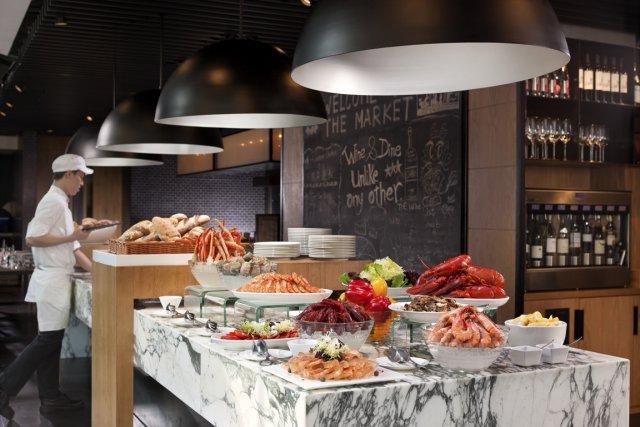 Le restaurant The Market recrée l'atmosphère vibrante des... (Photo fournie par l'Hôtel Icon)